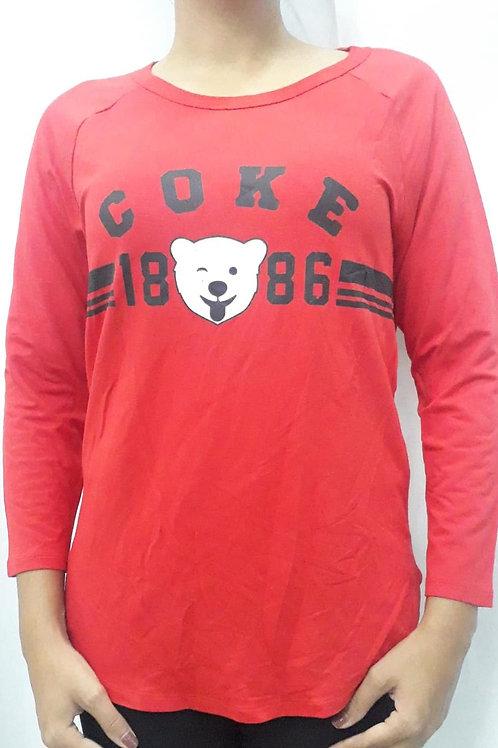 Camiseta fem. Coca-Cola