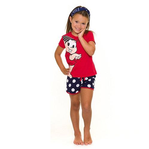 Pijama infantil turma da mônica Evanilda