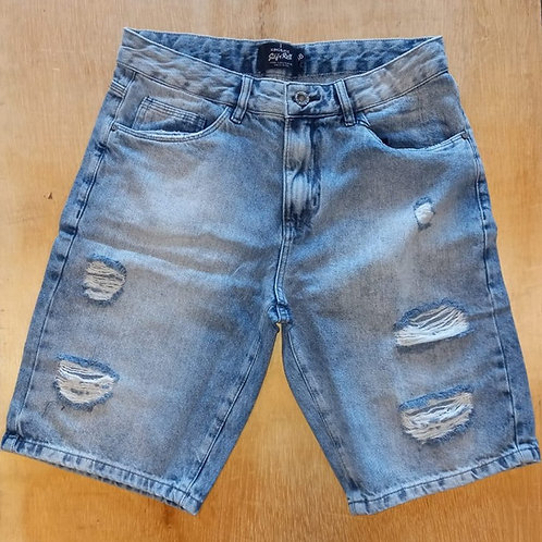 Bermuda jeans masculina King&Joe