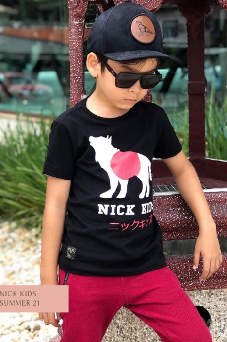 Camiseta básica Nick Kids