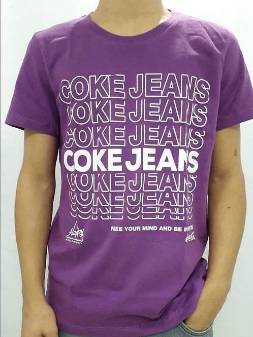 Camisa masc. Coca-Cola