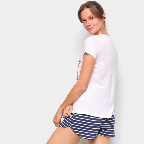 Pijama feminino adulto Evanilda