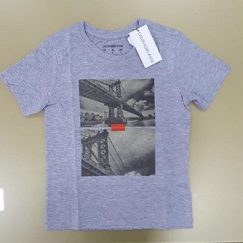Camisa infantil masc. Calvin Klein