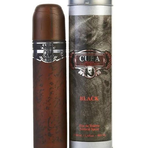 Perfume masculino Cuba Black 100 ml