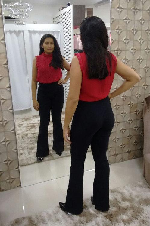 Conjunto Calça e Blusa Renda Rvinte
