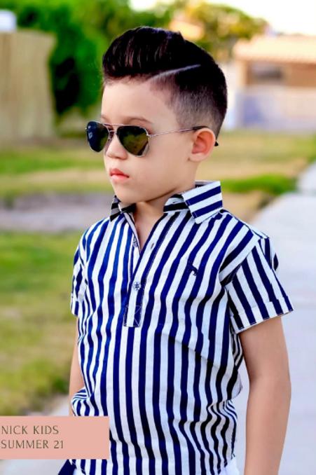Camisa bata Nick Kids