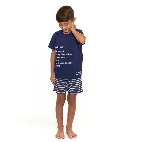 Pijama masculino infantil disturb Evanilda