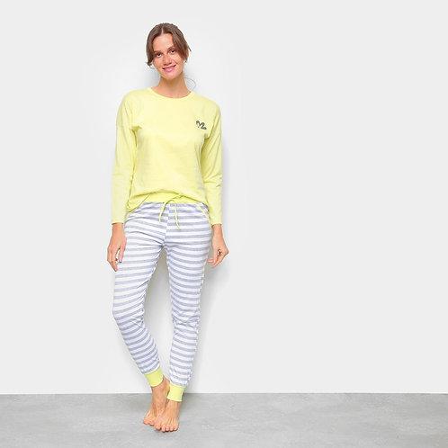 Pijama feminino daisy days classic Evanilda