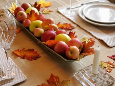 Beyond the Pumpkin - Decorating Ideas for Fall and Thanksgiving