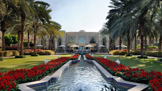 Royal Mirage Dubai Entrance