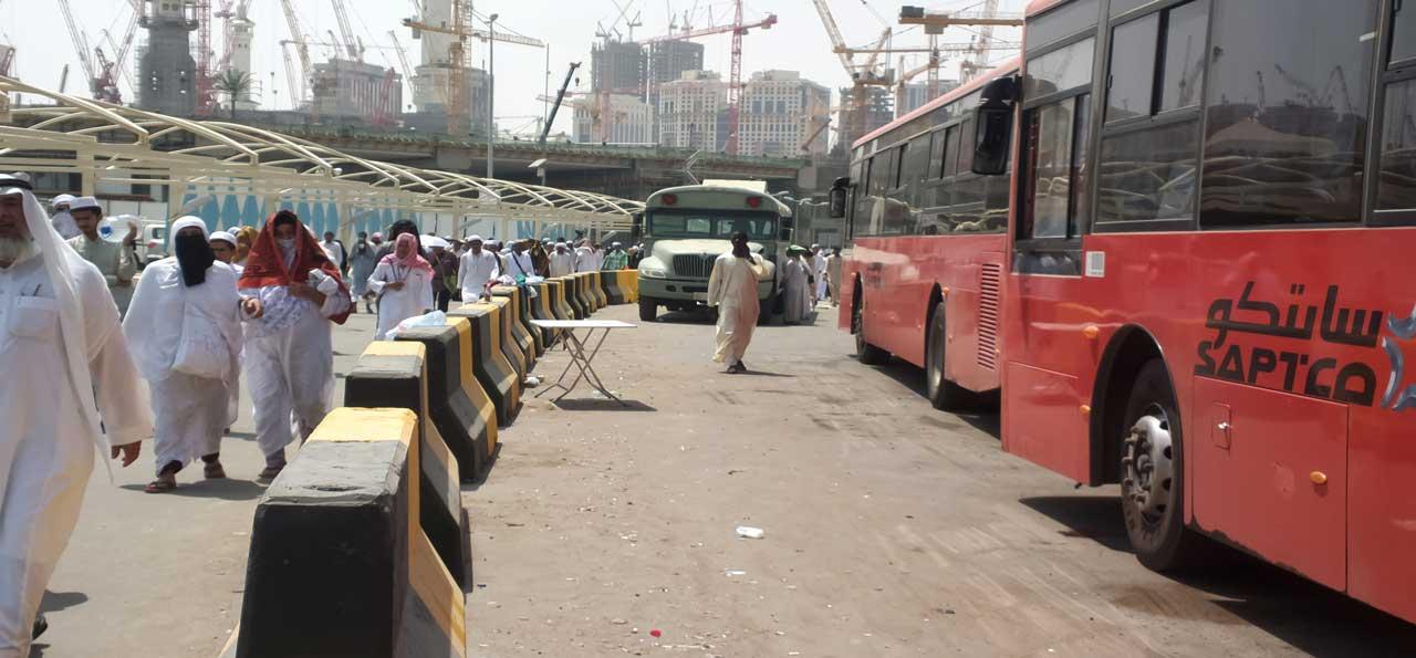 Book your Umrah Transport easily