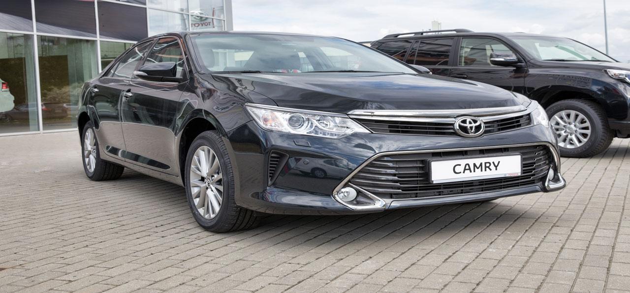 Sedan Car: Toyota Camry