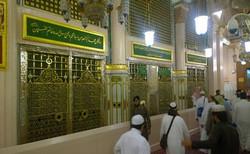 Grave of Prophet Muhammed PBUH