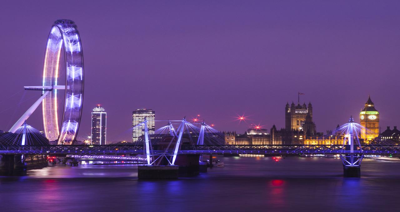 London Eye & Big Ben