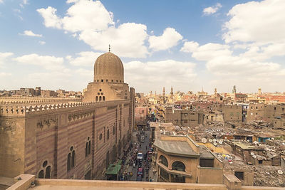 high-angle-view-of-cairo-during-daytime-