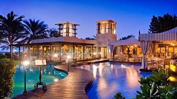 Royal Mirage Dubai Swimming Pool