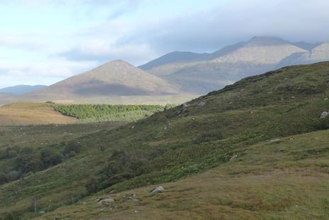 les monts du Connemara