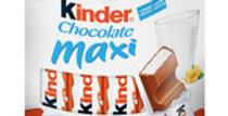 Barritas Kinder Choco Maxi 10 ud