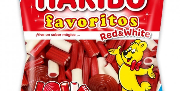 HARIBO favoritos red&white Mix
