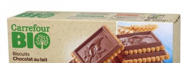 Galleta de Chocolate Bio Carrefour 150 g