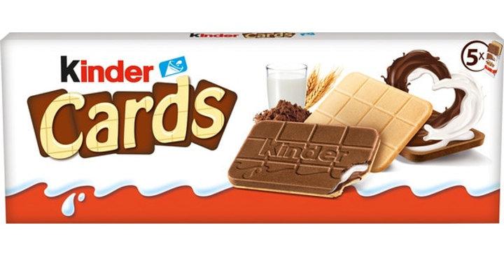 KINDER Galleta Cards