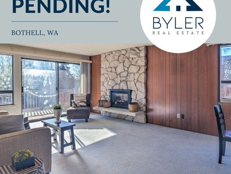 Pending in Bothell!