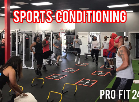 Sports Conditioning with - The Tomball Bobcats