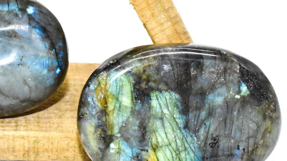 Labradorite Polished  Palm Stones - Psychic Enhancement
