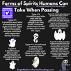 A Layperson's Guide - Six Types of Ghostly Spirits People Can Become When They Pass