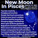 New Moon in Pisces: Deep Emotions, Enhanced Intuition, Spiritual Connection and Clarity