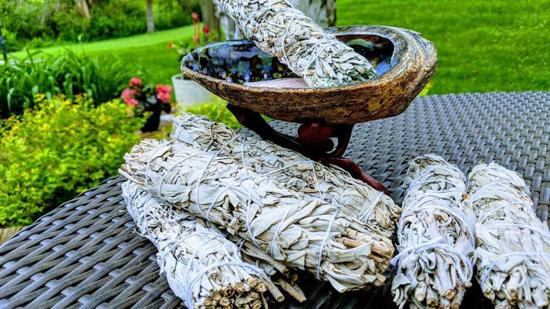 California White Sage Pure Leaf Bundles  For Clearing & Protection