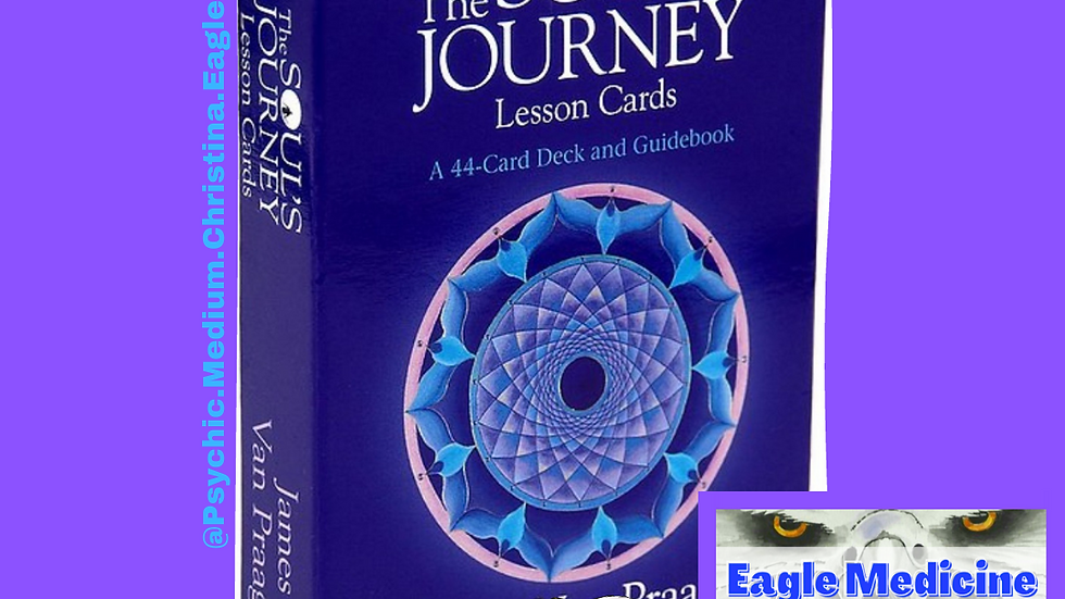 The Soul's Journey Lesson Oracle Cards  - 44 Card Deck - FAST In USA Shipping