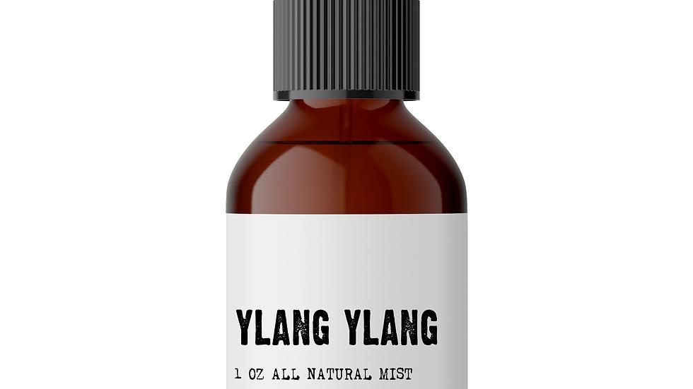 Ylang Ylang Meditation Mist - Increases Intuition Joy & Balance (1-3 oz bottles)