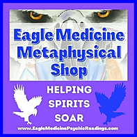 Eagle Medicine Metaphysical Shop Logo Oc