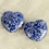 Thumbnail: 1Pc  Heart Shaped Natural Palm Gemtones in Tiger Eye/Amethyst/Lapis/Rose & More!
