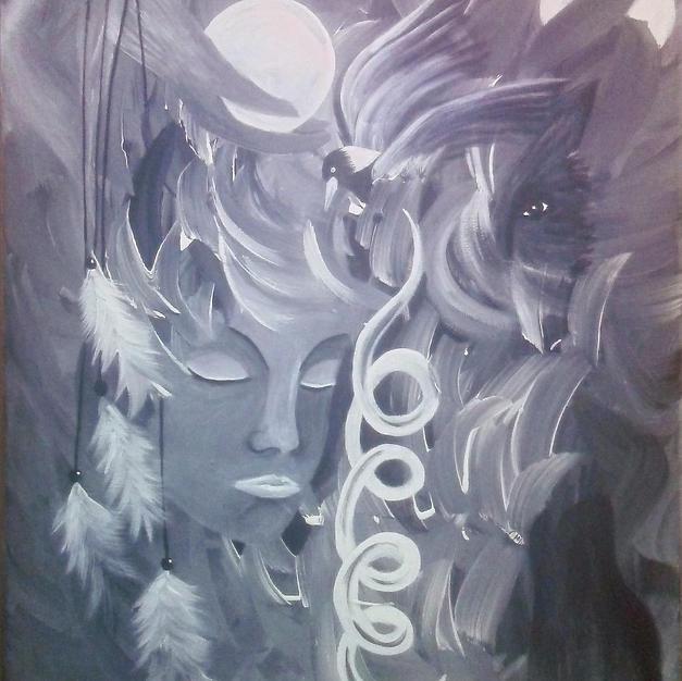 Grey Arrow Spirit Woman