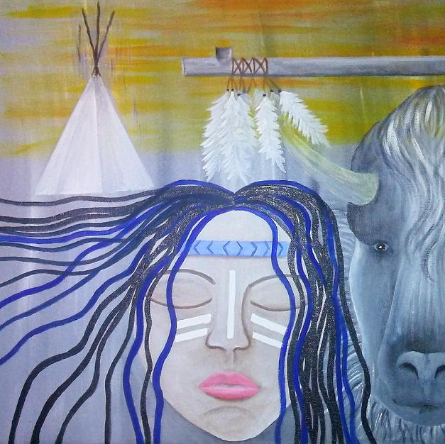 Lila Wakan White Buffalo Calf Woman
