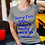 "Thumbnail: ""Sorry I'm Late"" Empath Women's The Boyfriend 100% Soft Cotton T in 15 colors"