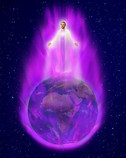 Transmutational Healing Power of the Karmic Clearing Violet Flame of St. Germain & Archangel Zadkiel