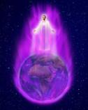 Transmutational Healing Power of the Karmic Clearing Violet Flame of St. Germain & Archangel Zadkiel