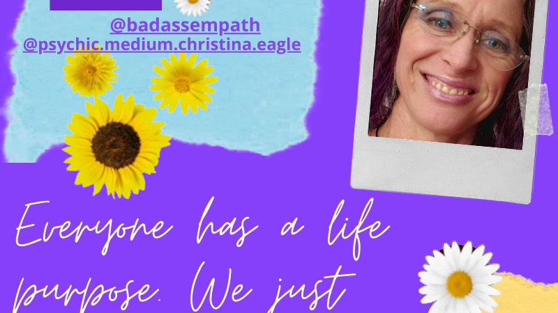 Finding My Soul Purpose Discovery Session with Medium Christina