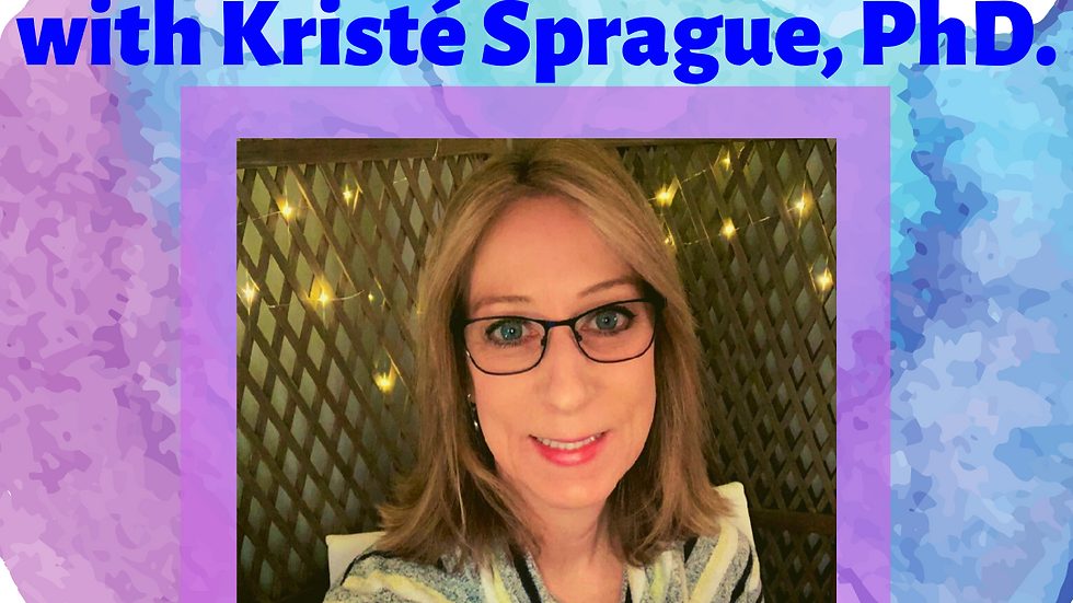 Holistic Counseling & Happiness Coaching with Dr. Kristé Sprague (50min session)