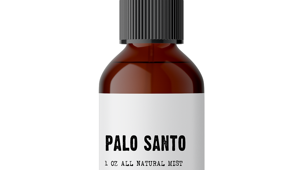 Palo Santo Mist For Energy/Vibrational Cleansing,Clearing Negativity&Protection