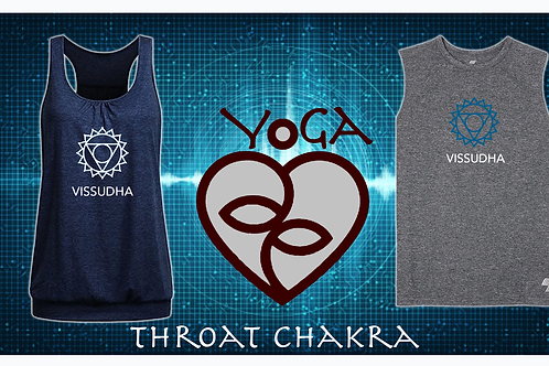YOGAlove - Chakra Stages Apparel: Vissudha Chakra