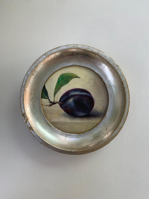 Plum with Sprig