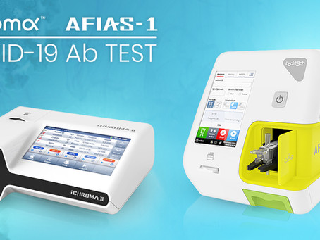Immunostics Launches Two Rapid COVID-19 Ab Test Platforms - AFIAS and iChroma COVID-19 Ab Tests