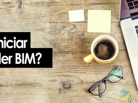 ¿Cómo iniciar a aprender BIM?