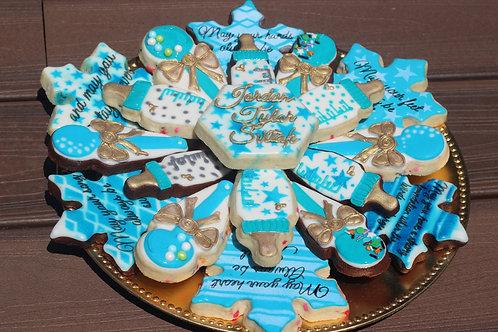 Baby Shower Cookie Platter