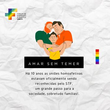 Há 10 anos o Supremo Tribunal Federal reconhecia a união homoafetiva.