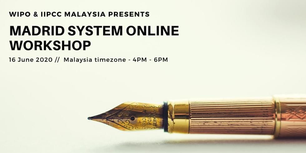 Madrid System Online Workshop